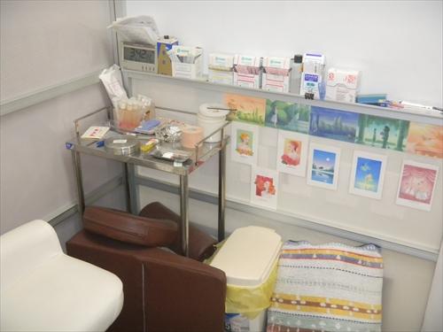花田治療院7施術スペース1